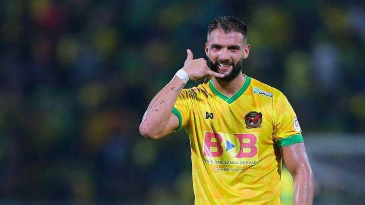 Mantan pemain Kedah FA, Liridon Krasniqi . Copyright: © twitter.com/kosovanfooty