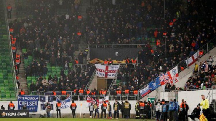 Fans Chelsea Terkenal Akan Aksi Rasisnya Dalam Kurun Waktu 4 Tahun Terakhir Copyright: © Reuters