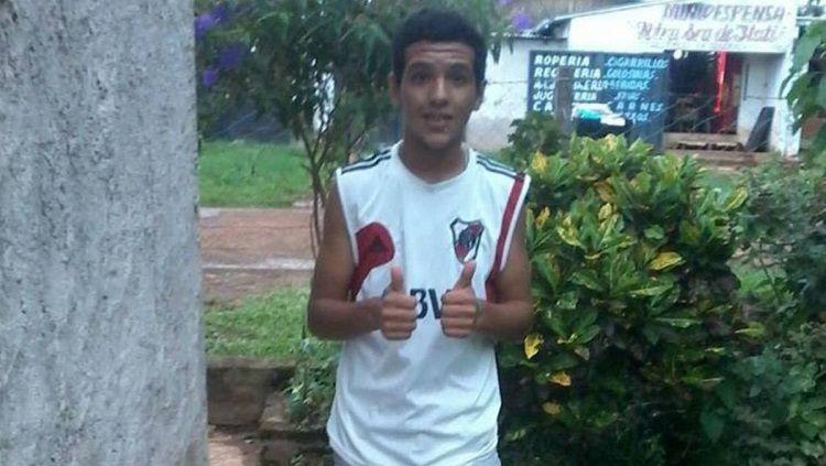 Exequiel Aaron Neris, fans River Plate yang dibunuh oleh fans Boca Juniors Copyright: © AS Sports