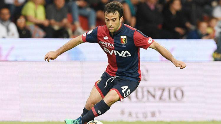 Giuseppe Rossi, eks Manchester United yang kini bermain di Genoa. Copyright: © Getty Images
