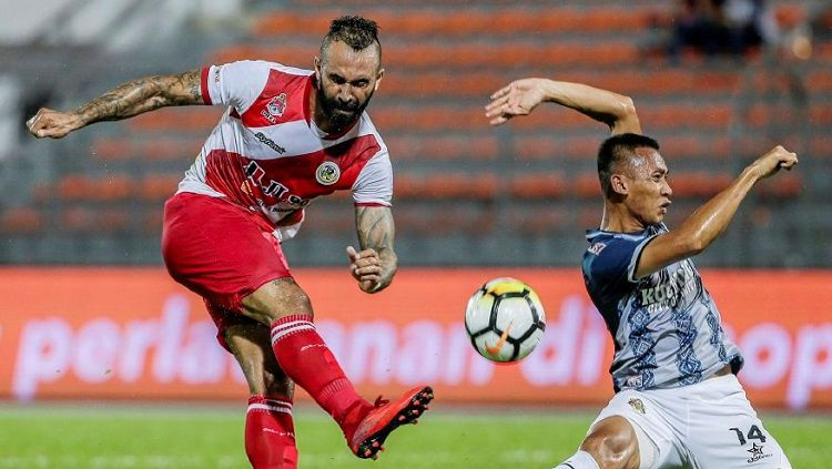 Guilherme de Paula, striker yang dikaitkan dengan Arema FC. Copyright: © New Straits Times