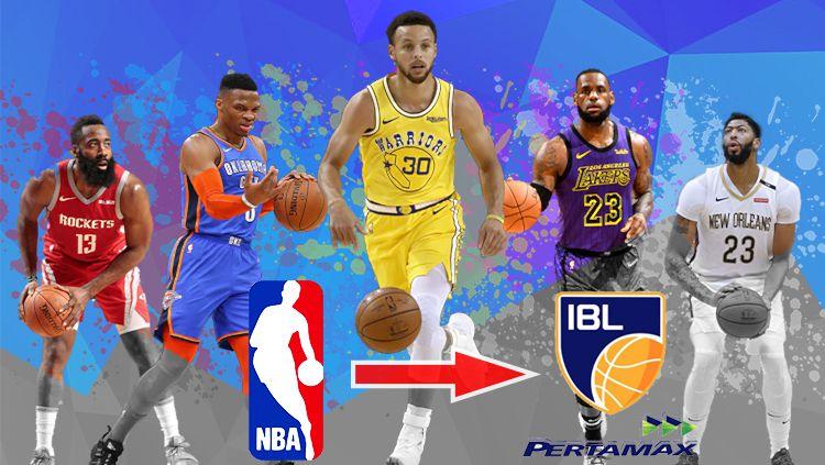 Pemain NBA ke IBL Copyright: © Indosport/AgilMubarok