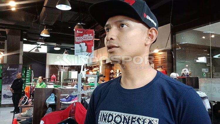 Dimas Ekky jadi satu-satunya pembalap Indonesia di Moto 2 musim depan. Copyright: © Shintya Maharani/INDOSPORT