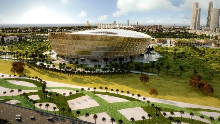 Stadion Lusail untuk Piala Dunia 2022 Copyright: © The Peninsula Qatar