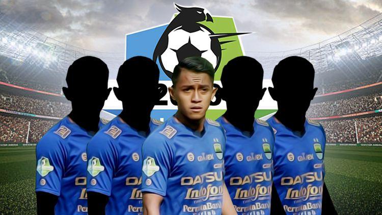 Lima pemain lokal Persib Bandung yang masuk jajaran termahal di Liga 1 2018 Copyright: © INDOSPORT
