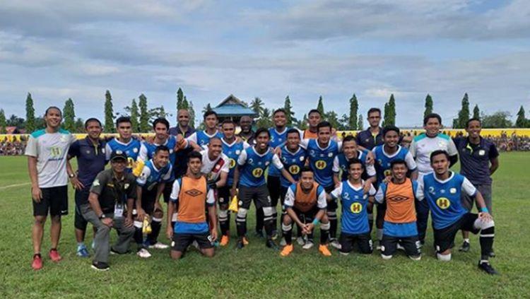 Skuat Barito Putera berhasil mengalahkan Persbul Buol dalam ajang Piala Indonesia 2018/2019, Rabu (19/12/18) sore. Copyright: © Instagram/@baritoputeraofficial