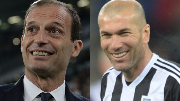 Allegri ke Madrid, Juve Bakal Dilatih Zidane? Copyright: © Google Search