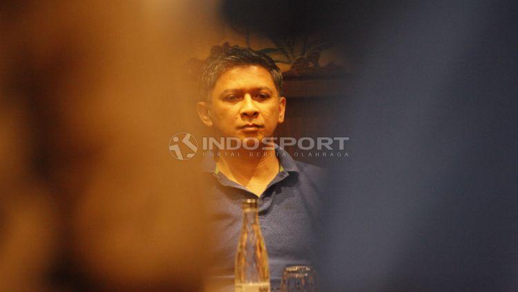 Plt Ketum PSSI yang baru, Iwan Budianto. Copyright: © Herry Ibrahim/INDOSPORT