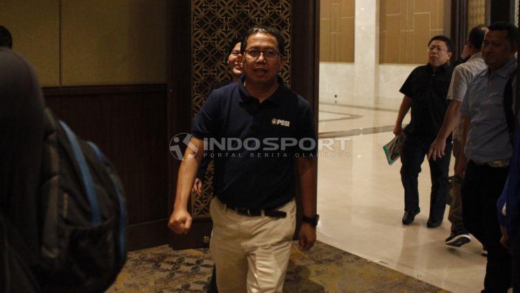 Wakil ketua umum PSSI, Joko Driyono Copyright: © Herry Ibrahim/INDOSPORT
