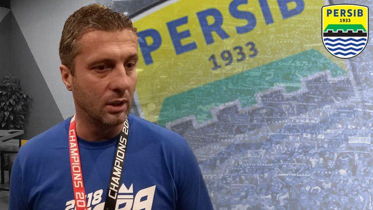 Miljan Radovic resmi jadi pelatih Persib Bandung Copyright: © INDOSPORT