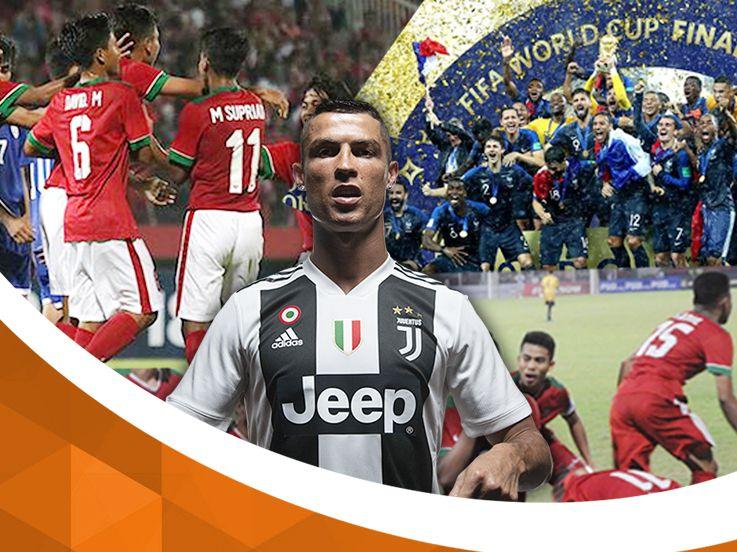 Kaleidoskop Juli 2018: Ronaldo ke Juventus, Prancis Juara dan Indonesia Kembali Gagal
