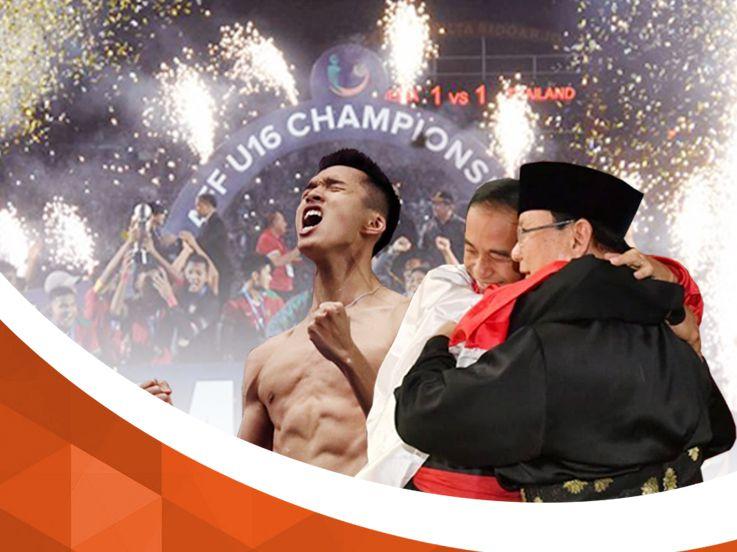 Kaleidoskop Agustus 2018: Timnas Indonesia U-16 Juara Hingga Jojo Buka Baju