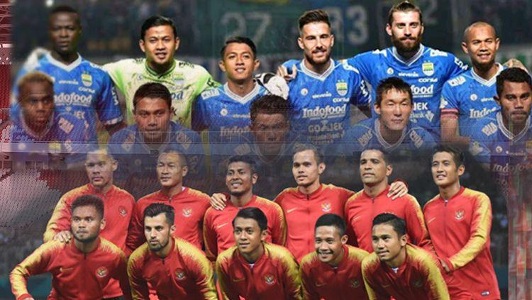 Skuad Persib & Timnas Copyright: © Indosport