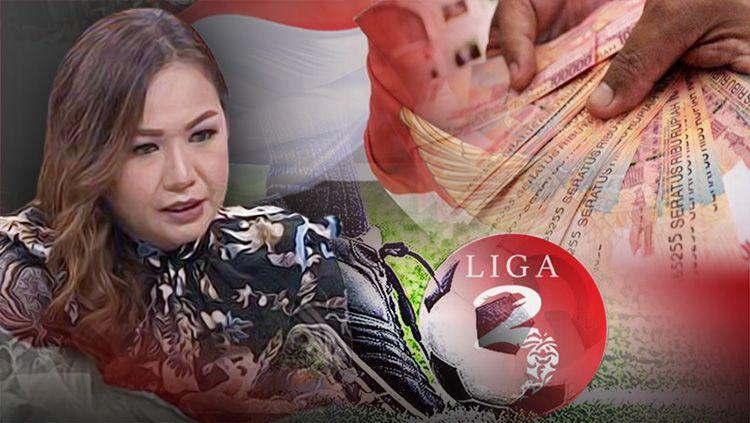 Lasmi Indriyani bongkar Mafia di liga 3. Copyright: © Indosport.com