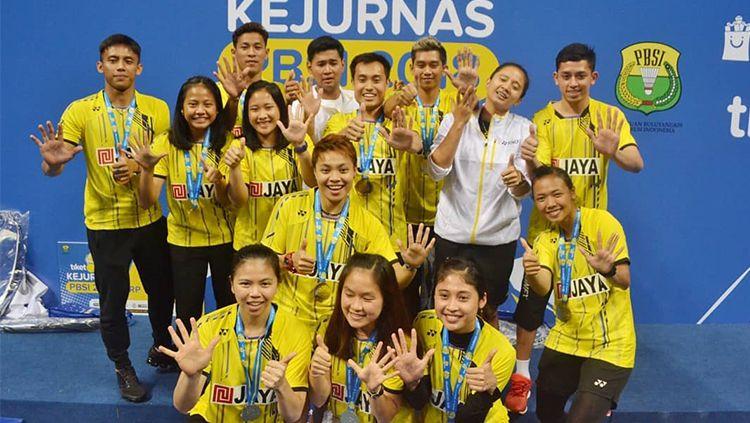 Sejumlah pebulutangkis top Indonesia diketahui lahir berkat klub milik mendiang Ciputra, PB Jaya Raya. Copyright: © Instagram/pb_jayaraya