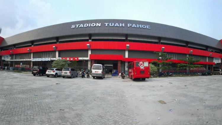 Stadion Tuah Pahoe, kandang Kalteng Putra. Copyright: © Mmc.kalteng.go.id.