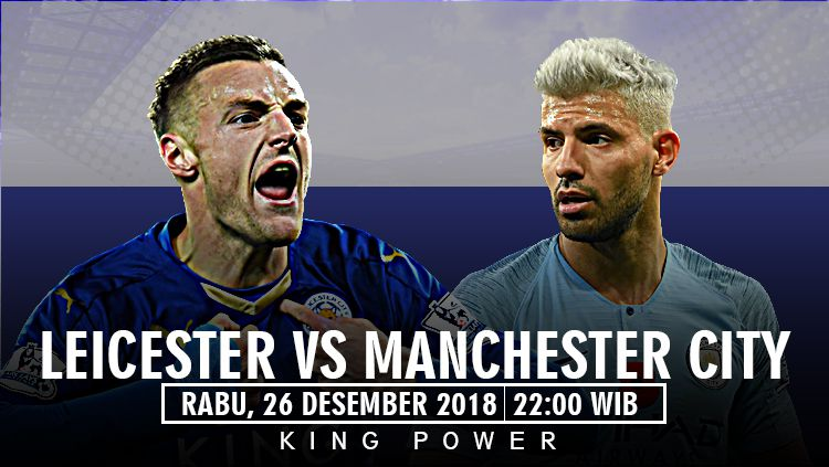 Prediksi pertandingan Leicester V Manchester City Copyright: © INDOSPORT