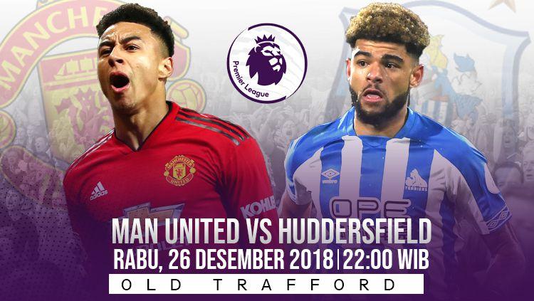 Prediksi pertandingan Manchester United vs Huddersfield Town Copyright: © INDOSPORT