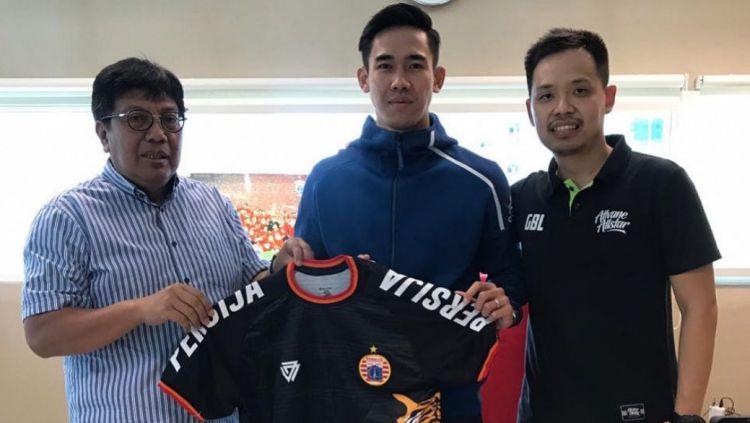 Resmi, Ryuji Utomo bergabung kembali ke Persija musim ini, ia dikontrak dengan durasi kontrak dua tahun. Copyright: © Instagram@persijajkt