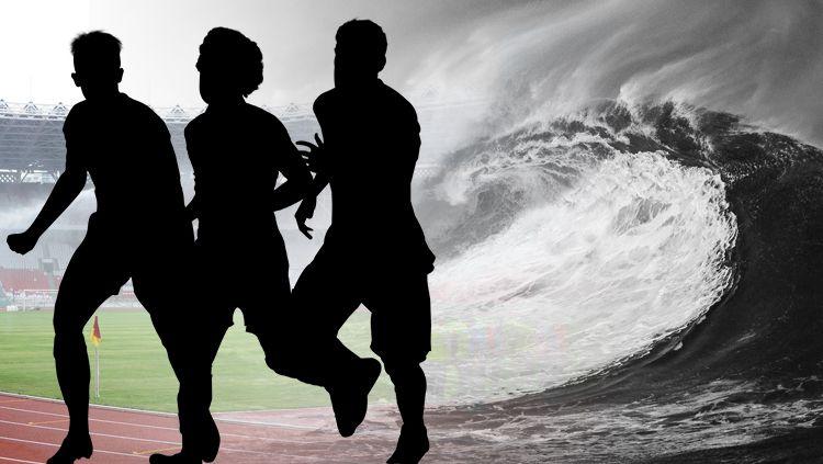 3 Pemain Sepak Bola Indonesia Ini Selamat Dari Bencana Tsunami Copyright: © Agil Mubarok/Indosport