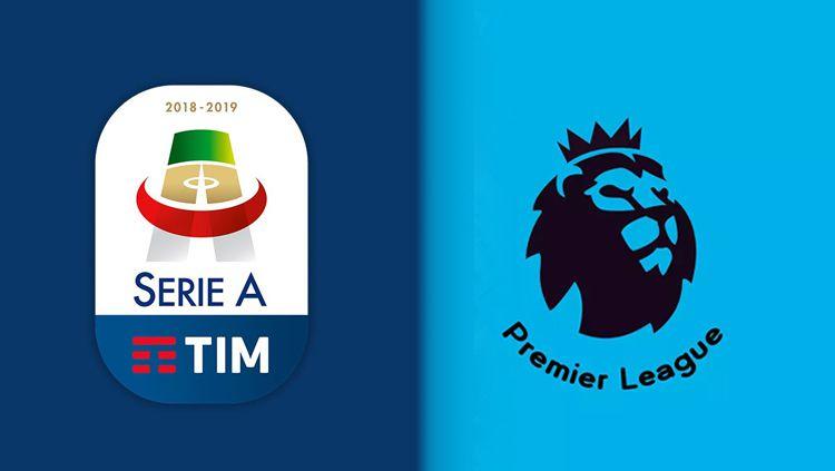Liga Inggris menjadi pasar potensial klub-klub Serie A Italia untuk mendatangkan pemain murah Copyright: © INDOSPORT