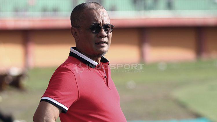 Manajer Madura United, Haruna Soemitro, menganggap mengisi salah satu jabatan dalam jajaran komite eksekutif (Exco) PSSI bukan hal yang baru untuknya. Copyright: © Ian Setiawan/Indosport.com