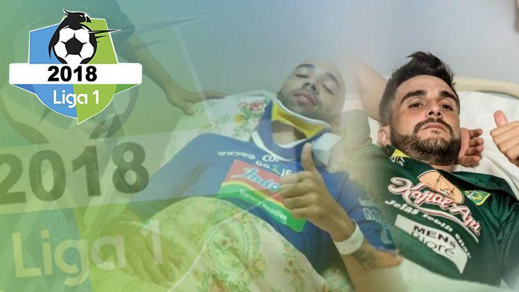 Deretan insiden Mengerikan yang Terjadi di Liga Indonesia Sepanjang 2018 Copyright: © INDOSPORT