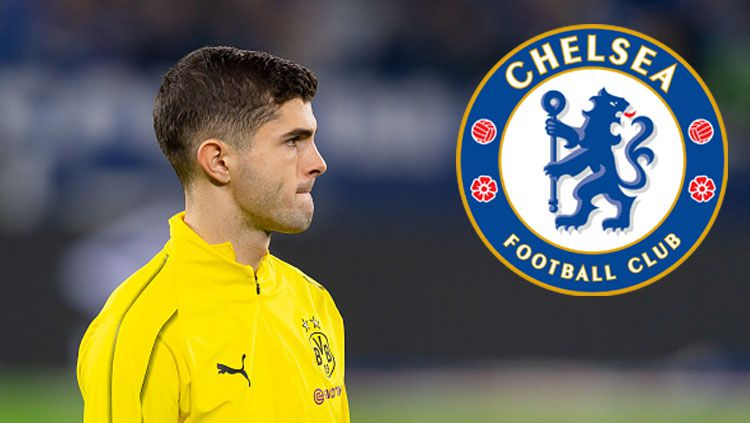 Christian Pulisic resmi ke Chelsea. Copyright: © Getty Images / Grafis: INDOSPORT