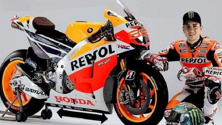 Jorge Lorenzo resmi bergabung dengan tim Repsol Honda di musim MotoGP 2019 Copyright: © Skysports