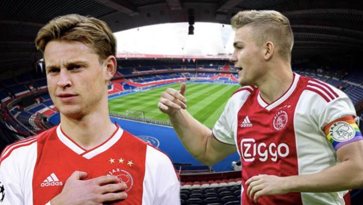Frenkie De Jong dan Matthijs De Ligt Copyright: © Sports Bible
