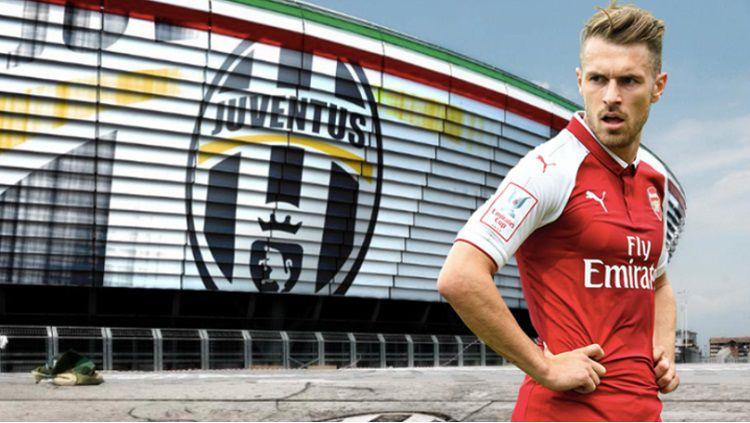 Ramsey selangkah lagi berlabuh di Juventus Copyright: © Sport Bible