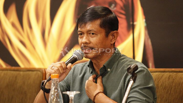Jumpa Pers PSSI dan Indra Sjafri Terkait Timnas U-22. Copyright: © Herry Ibrahim/Indosport.com