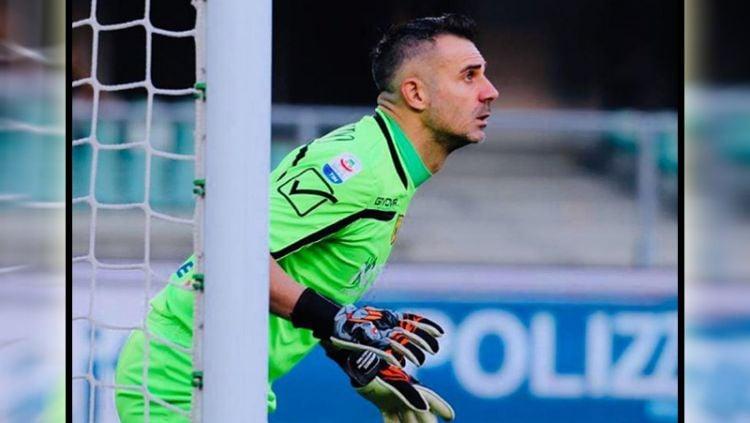 Stefano Sorrentino kiper Chievo Verona. Copyright: © Instagram@stefanosorrentino