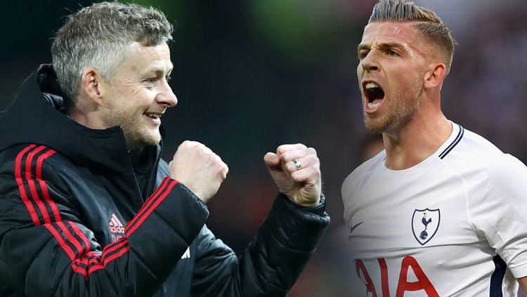 Ole Gunnar Solskjaer dan Toby Alderweireld Copyright: © Getty Images / Grafis: INDOSPORT