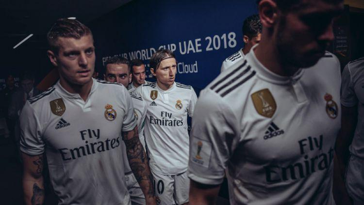 Skuat Real Madrid Copyright: © INDOSPORT