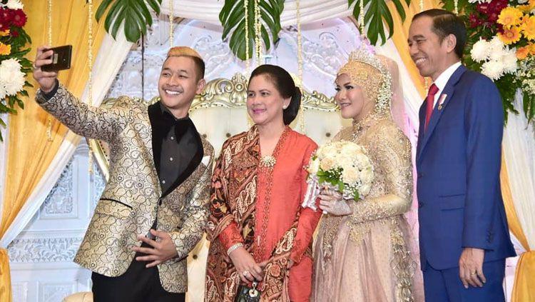 pernikahan Pipiet dan Hanifan Copyright: © Instagram/Joko Widodo