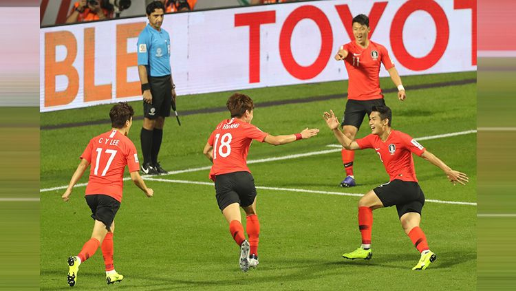 Korea Selatan vs Filipina di Piala Asia 2019. Copyright: © AFC