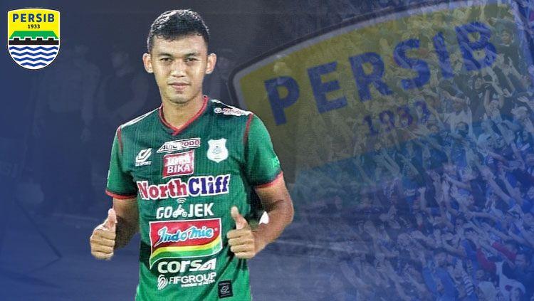 Gelandang PSMS Medan, Abdul Aziz, untuk Liga 1 2019. Abdul adalah lulusan diklat Persib. Copyright: © INDOSPORT