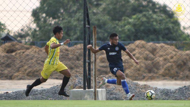 Saddil Ramdani pemain Pahang FA. Copyright: © Twitter@MediaPhgFA