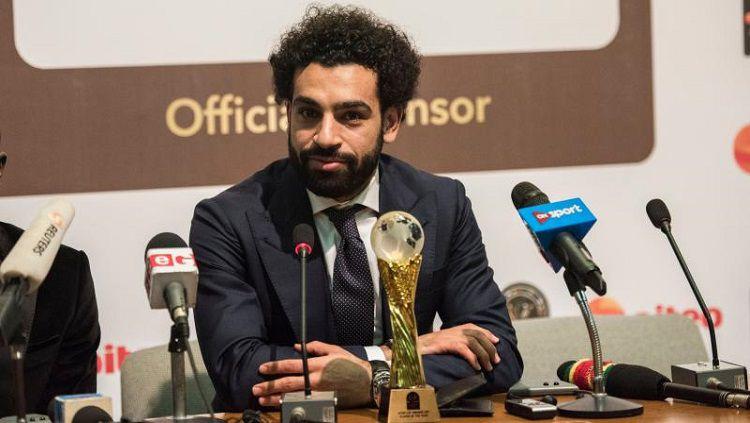 Mo Salah kembali dinobatkan sebagai pemain Afrika terbaik untuk kedua kalinya Copyright: © Deccan Chronicle
