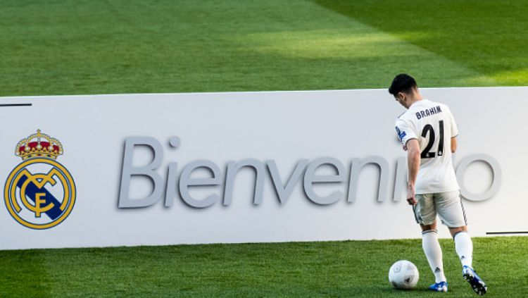 Ibrahim Diaz, pemain baru Real Madrid Copyright: © Getty Images