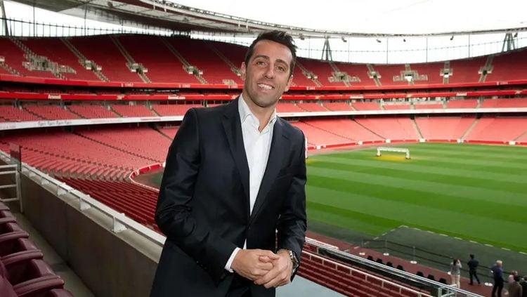Direktur Teknis Arsenal yang baru, Edu Gaspar, memberi nasehat kepada klubnya tentang bagaimana cara untuk bisa lebih kompetitif musim depan. Copyright: © Getty Images