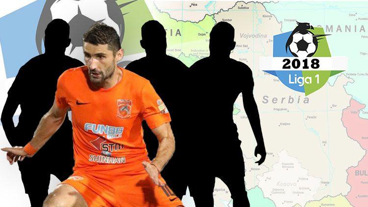 Termasuk Lopicic, Ini 4 Pemain Balkan yang Bermain di Liga 1 2019 Copyright: © INDOSPORT