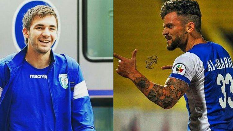 Robert Lima Guimaraes dari Brasil dan Pavel Smolyachenko dari Uzbekistan Copyright: © Istimewa