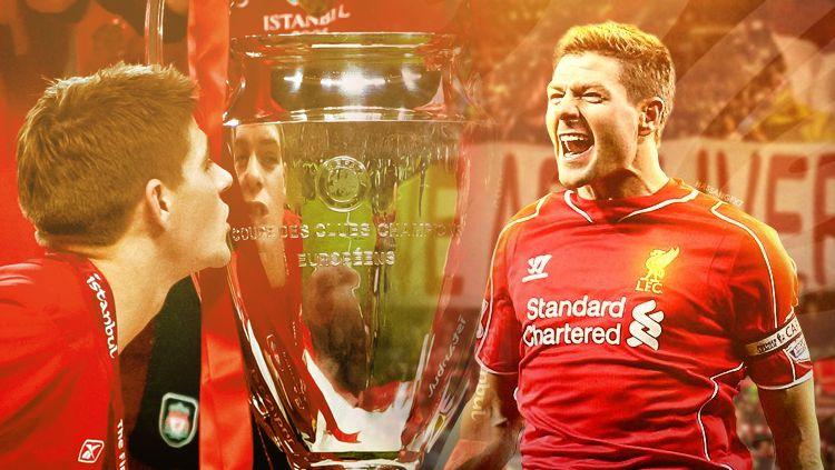 Steven Gerrard saat berseragam Liverpool Copyright: © INDOSPORT