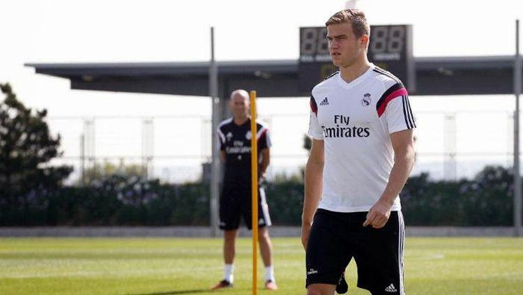 Eero Markkanen saat jalani latihan bersama Real Madrid Copyright: © Istimewa