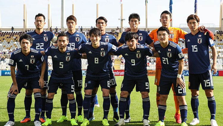 Skuat Timnas Jepang. Copyright: © Getty Images