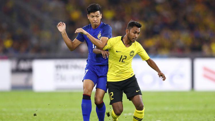 Akram Mahinan saat membela Timnas Malaysia. Copyright: © Fox Sport Asia