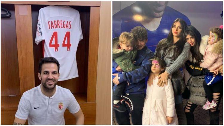 Chelsea telah umumkan kepindahan Cesc Fabregas ke AS Monaco. Copyright: © Instagram @cesc4official