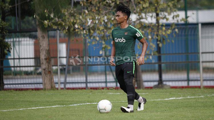 Bek Timnas Indonesia U-23, Bagas Adi. Copyright: © Herry Ibrahim/INDOSPORT